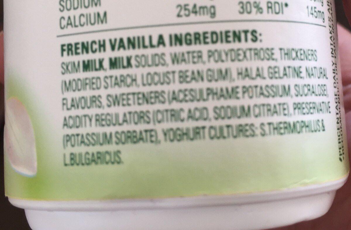 Yaourt à la Grecque Vanille - Product - fr