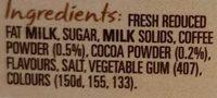 PURA Classic Smooth & Creamy Mocha - Ingredients - en