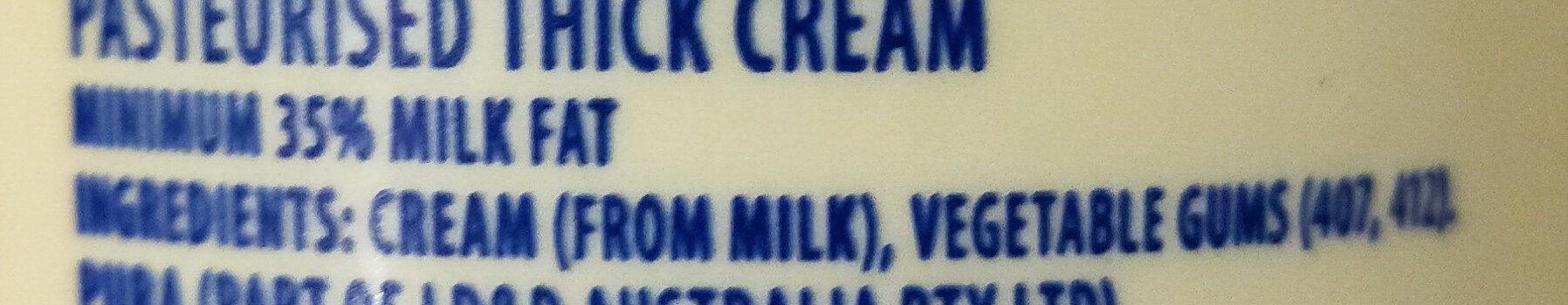 Thick Cream Dollop - Ingredients - en