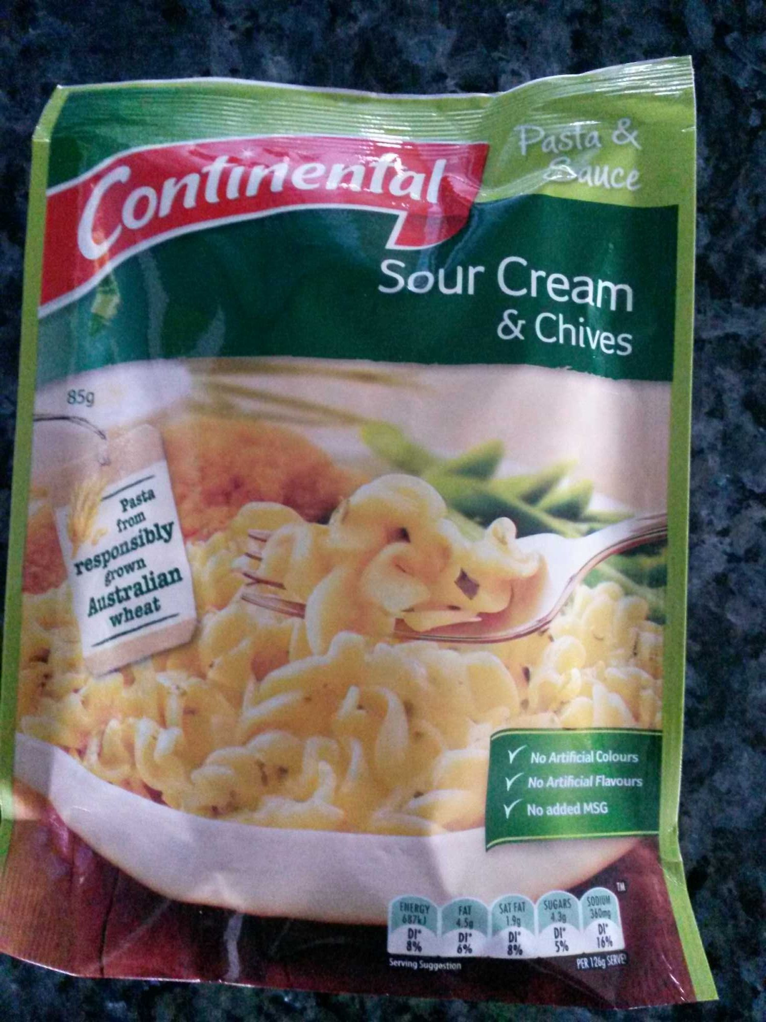 Continental Sour Cream and Chives - Product