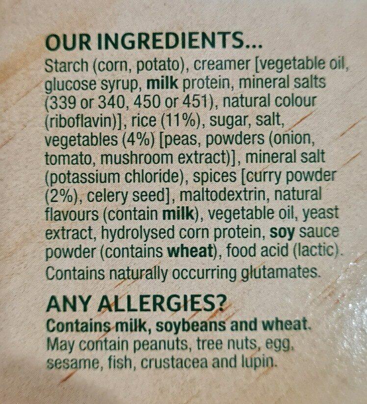 continentals - Ingredients - en