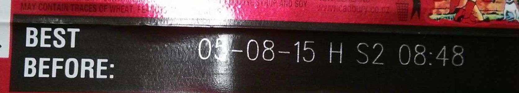 Cherry Ripe - Ingredients