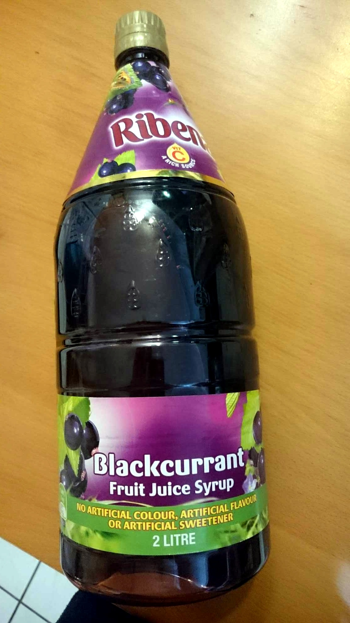 blackcurrant juice syrup - Product - en