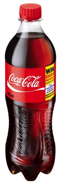 Coca Cola 600ml Bottle - Product - en