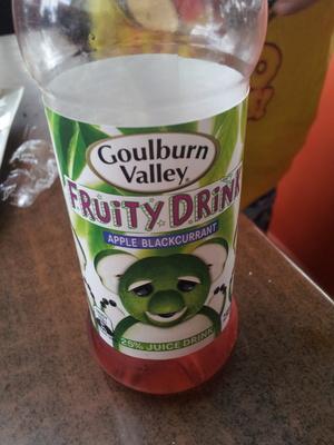 apple blackcurrant fruity drink - Product - en