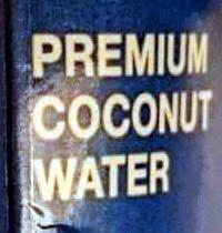 Premium coconut water - Ingredients - en