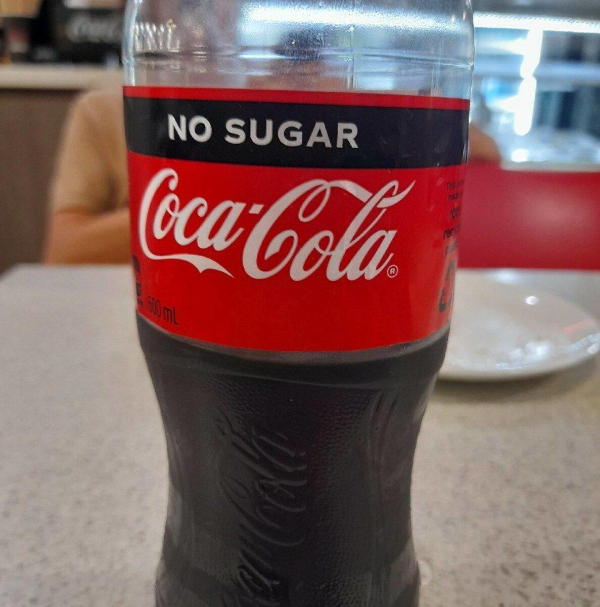 Coca-Cola No Sugar - Product - en