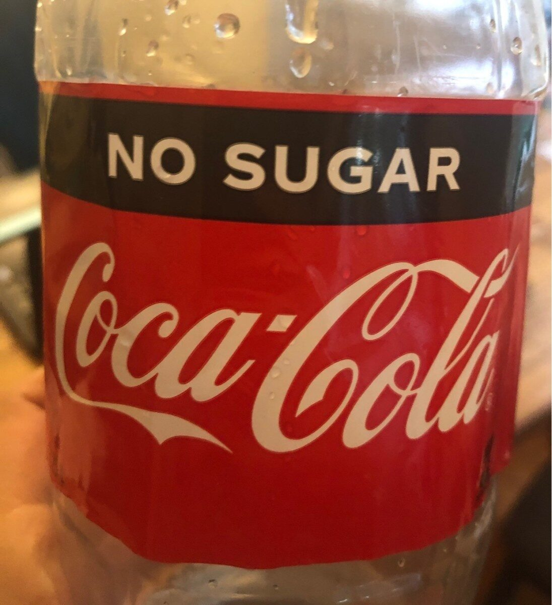 Coca cola no sugar - Product - en