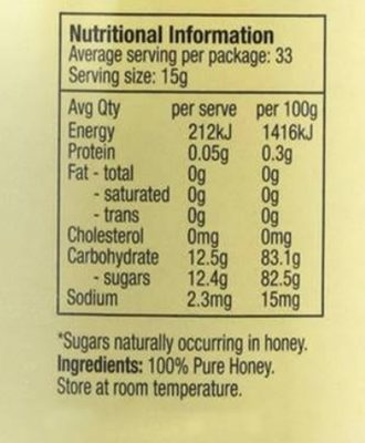 Allowrie Mixed Blossom Honey - 4