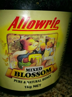 Allowrie Mixed Blossom pure & natural honey - Product