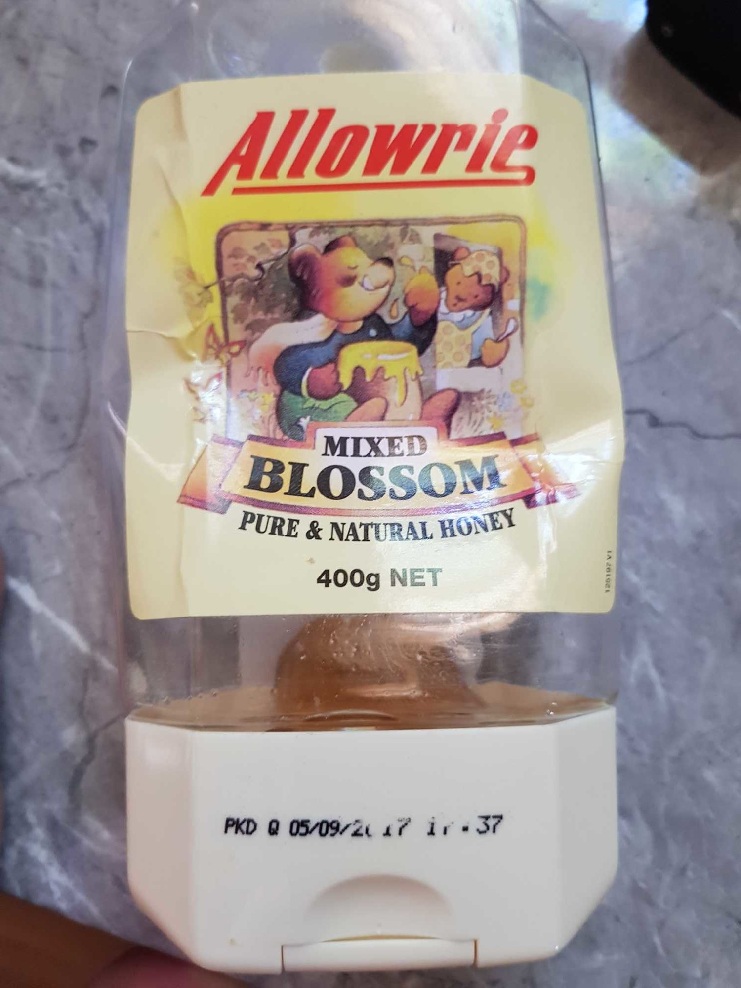 Allowrie Mixed Blossom Pure and Natural Honey - Product