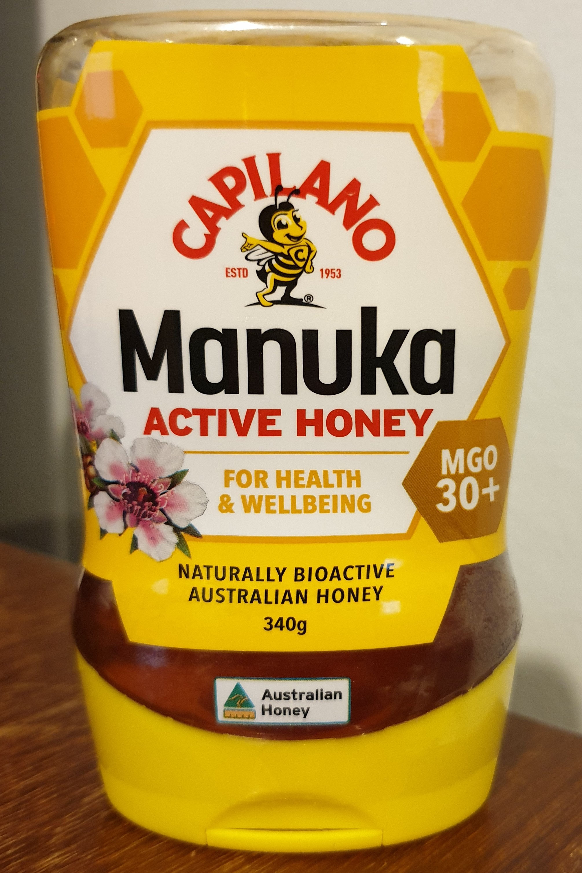 Manuka active honey - Product - en