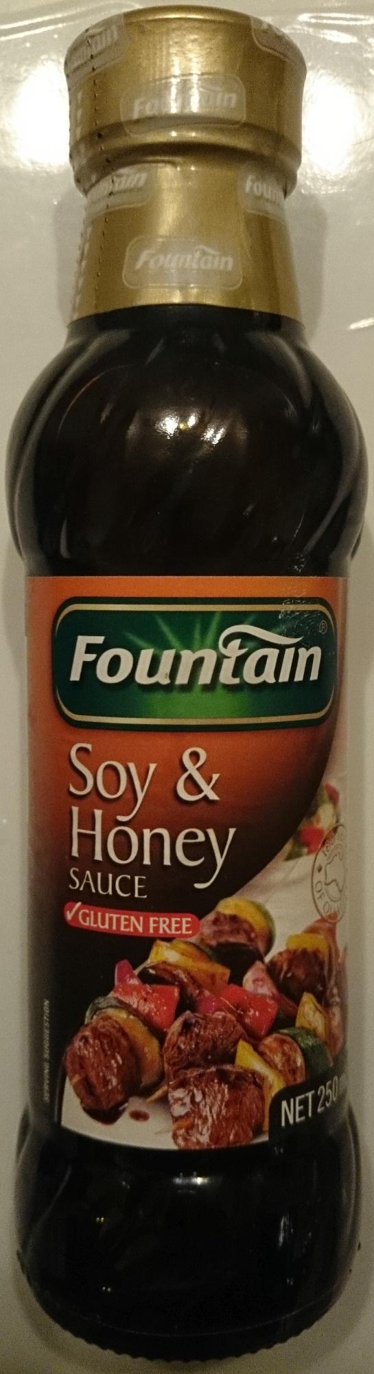 Fountain Soy & Honey Sauce - Product - en