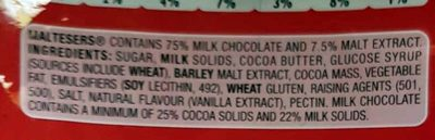 Maltesers - Ingredients