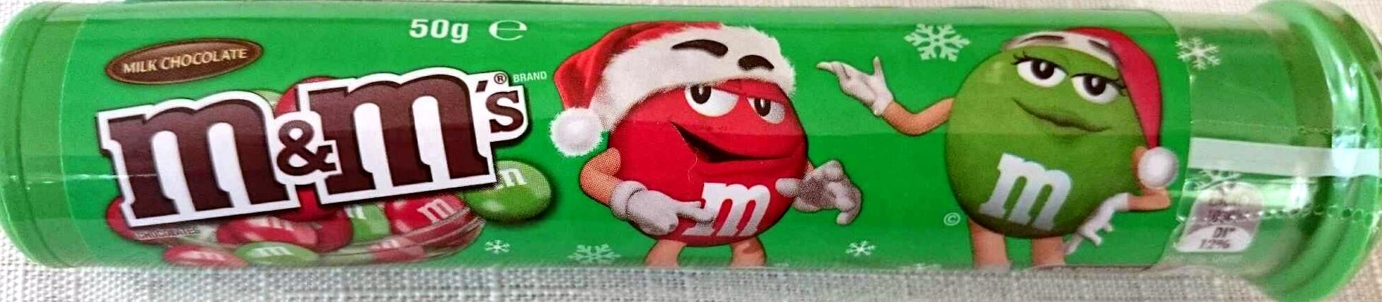M&Ms Milk Chocolate - Product - en