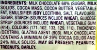 M&M's Pineapple - Ingredients