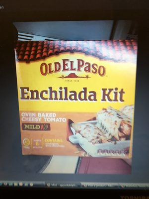 Old El Paso , oven baked cheesy tomato mild - Product