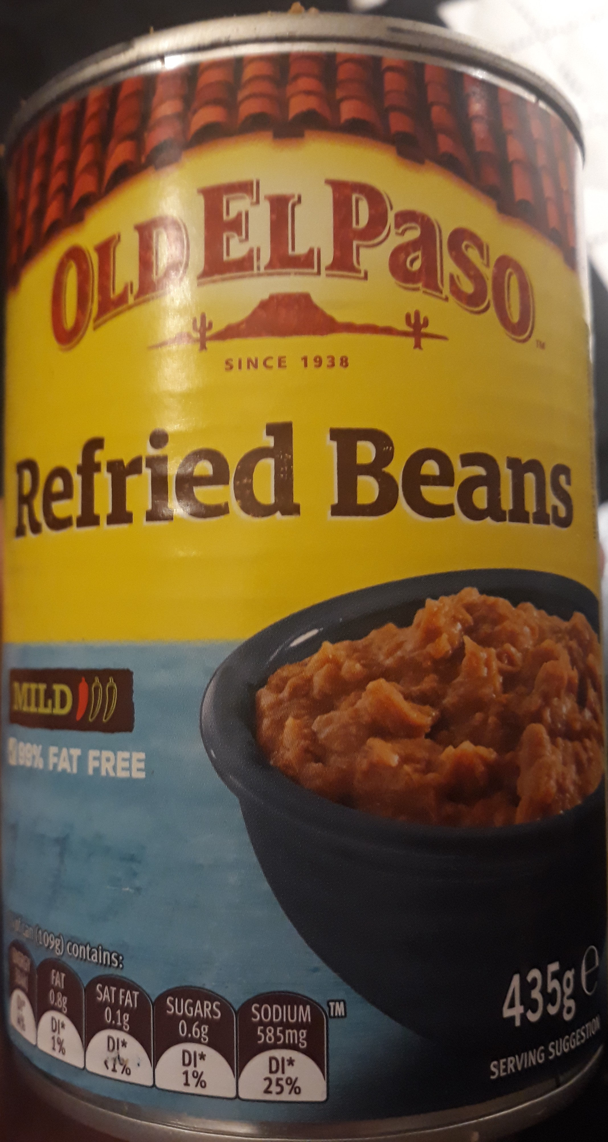 Refried beans - Product
