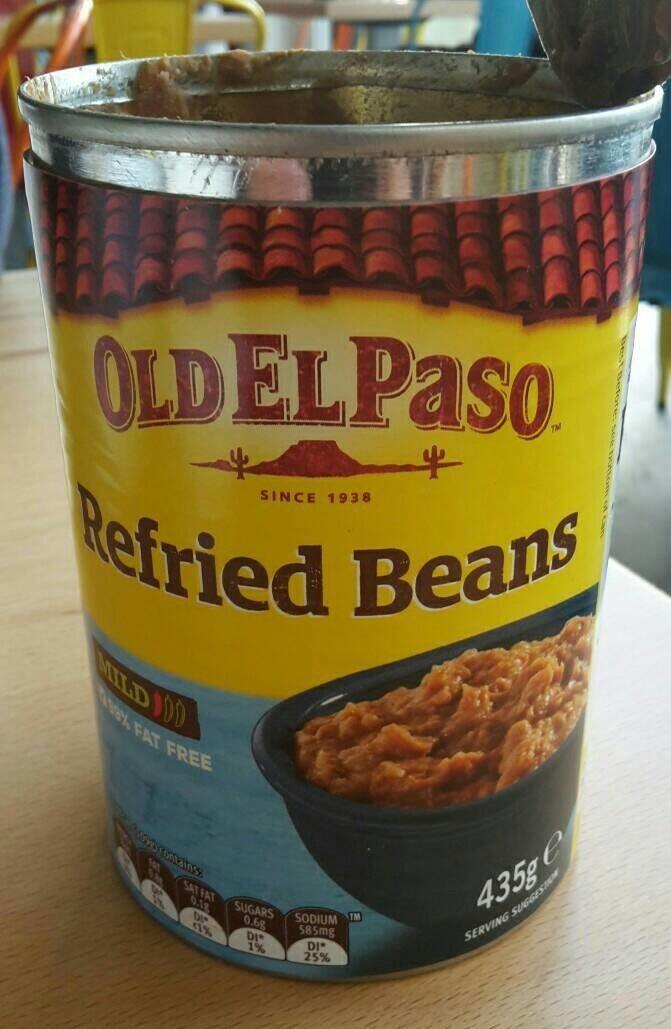 Refried beans - Produit - fr
