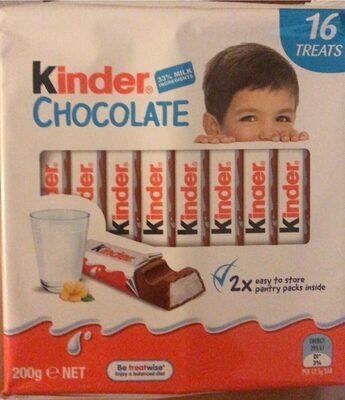 Kinder Chocolate - Product - en