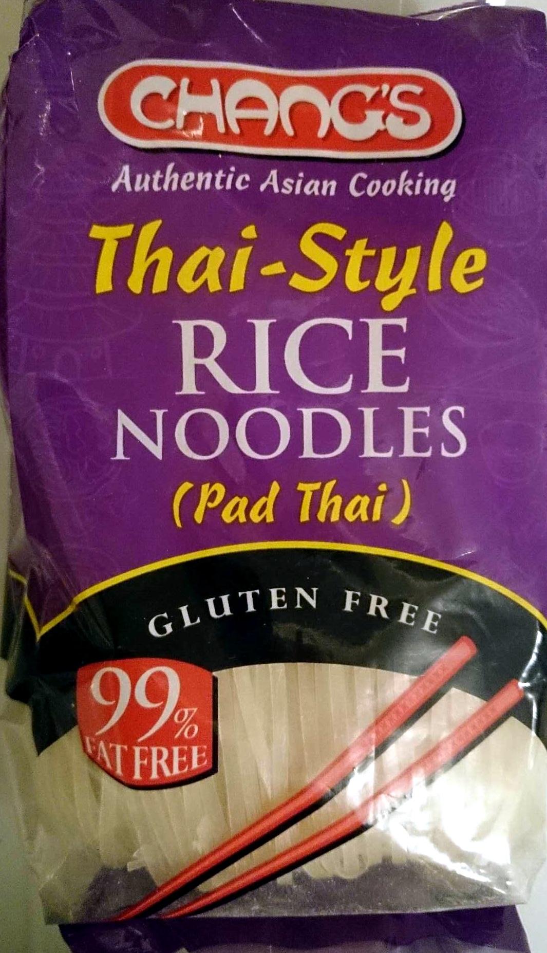 Thai Style Rice Noodles (Pad Thai) - Product - en
