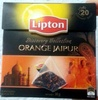 Orange Jaipur flavoured black tea - Product