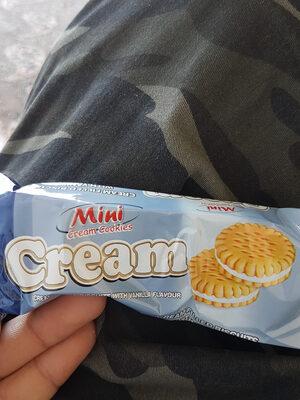 Mini cream cookies - Product - en