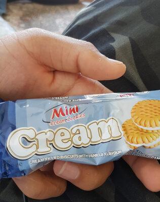 Mini cream cookies - Ingredients - en
