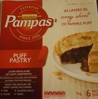 Pampas Puff Pastry - Product - en