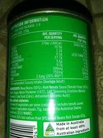 SPC Salt Reduced Baked Beans - Nutrition facts - en