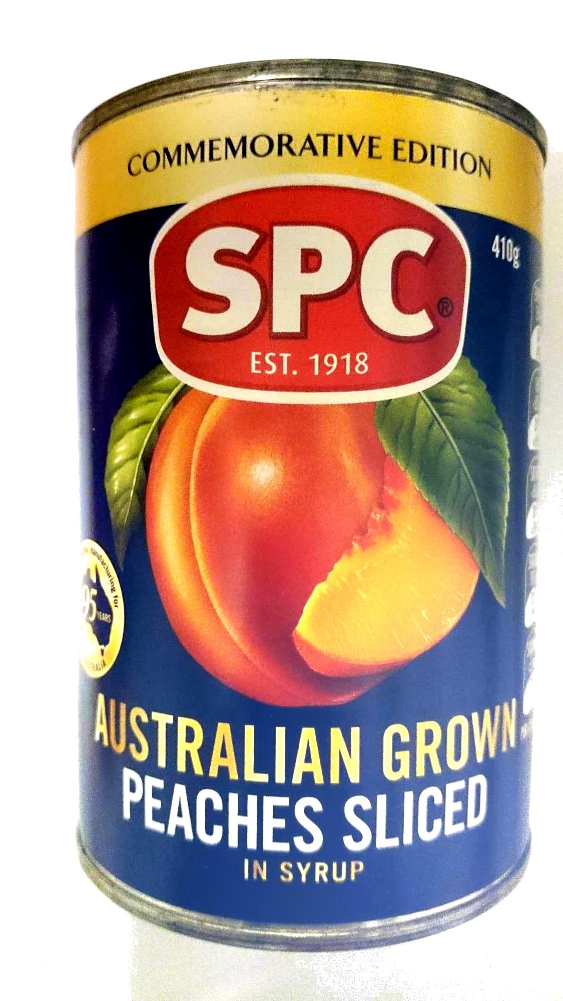 Australian Grown Peaches Sliced in Syrup - Produit - en