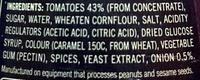 Barbeque Sauce - Ingredients - en