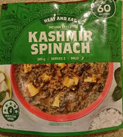 Indian Style Kashmir Spinach Heat and Eat - Product - en