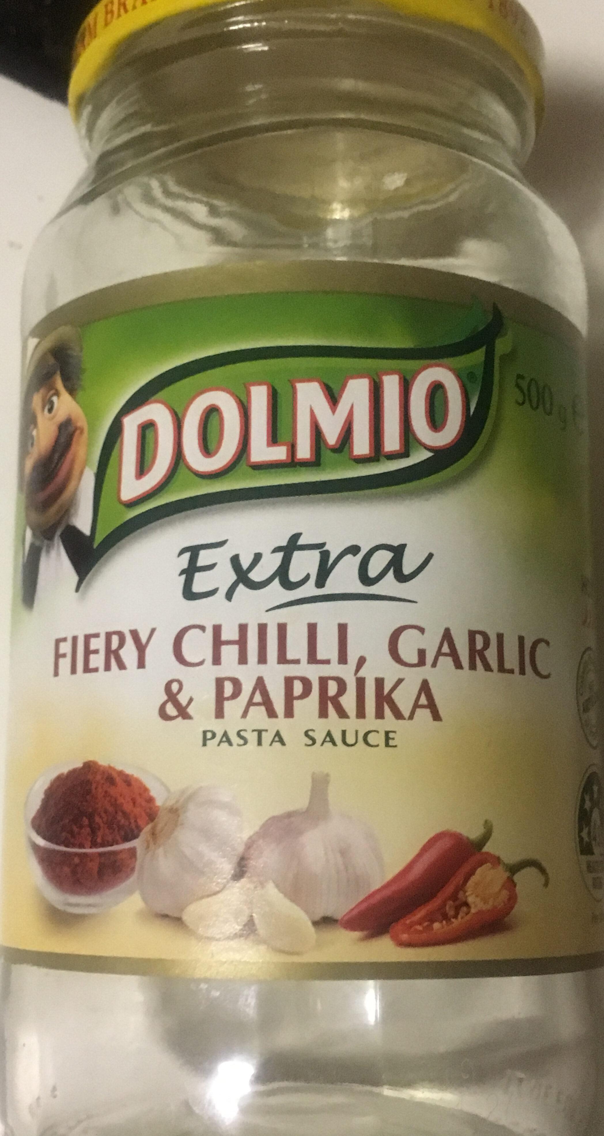 Fiery Chilli Garlic & Paprika Pasta Sauce - Product - en
