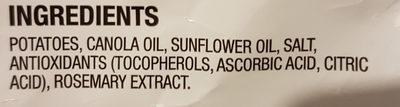 chips, original - Ingredients - en