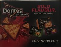 Doritos crackers - Product - fr