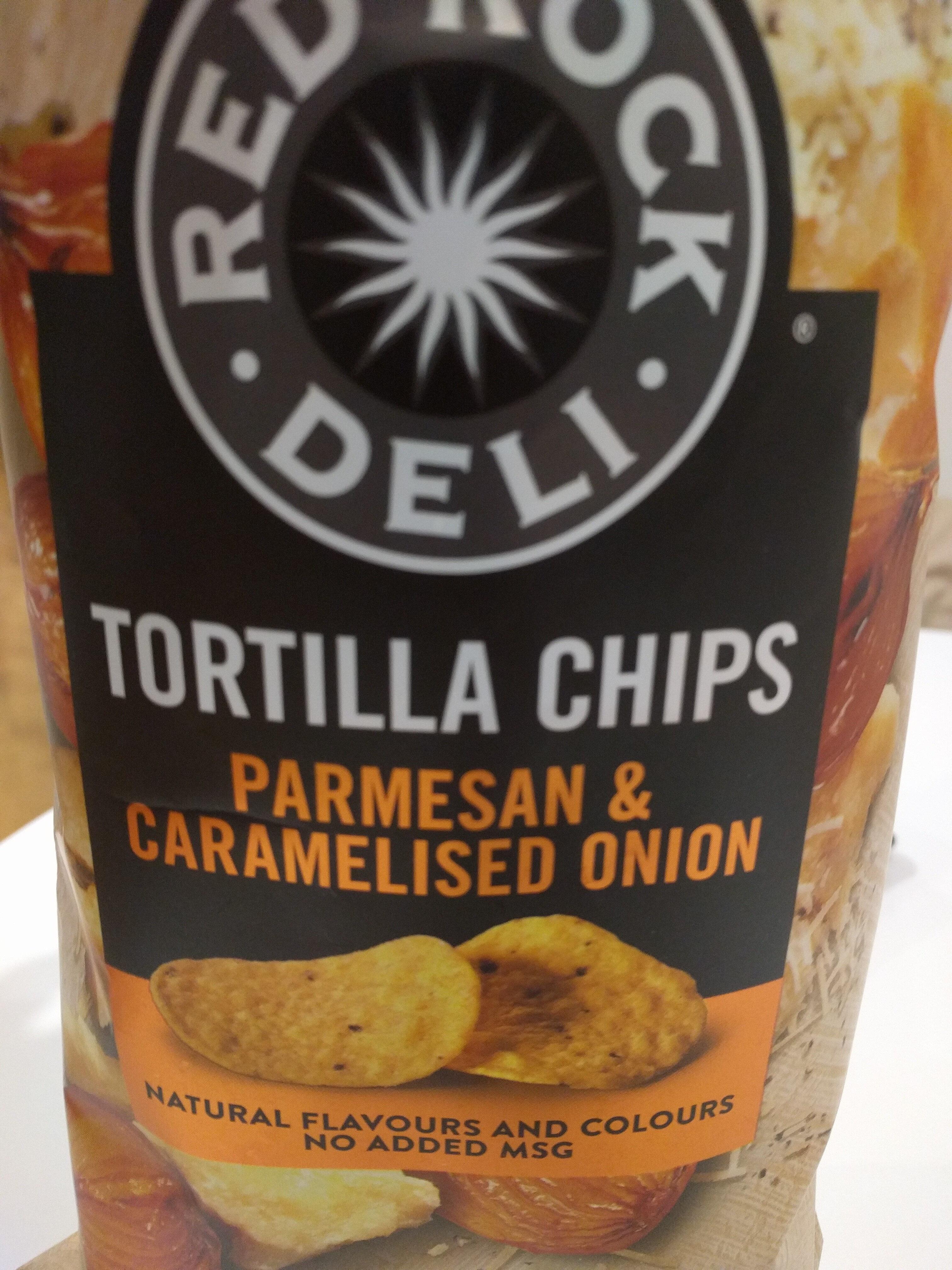Tortilla Chips (Parmesan & Caramelised Onion) - Product - en