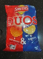 smiths duos hot wings & ranch - Product - en