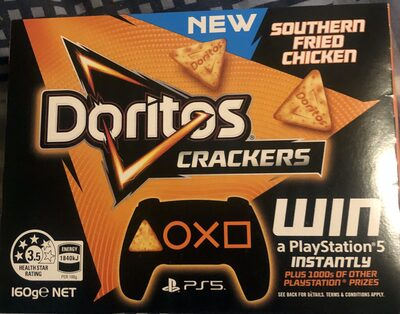 Crackers Southern Fried Chicken - Product - en