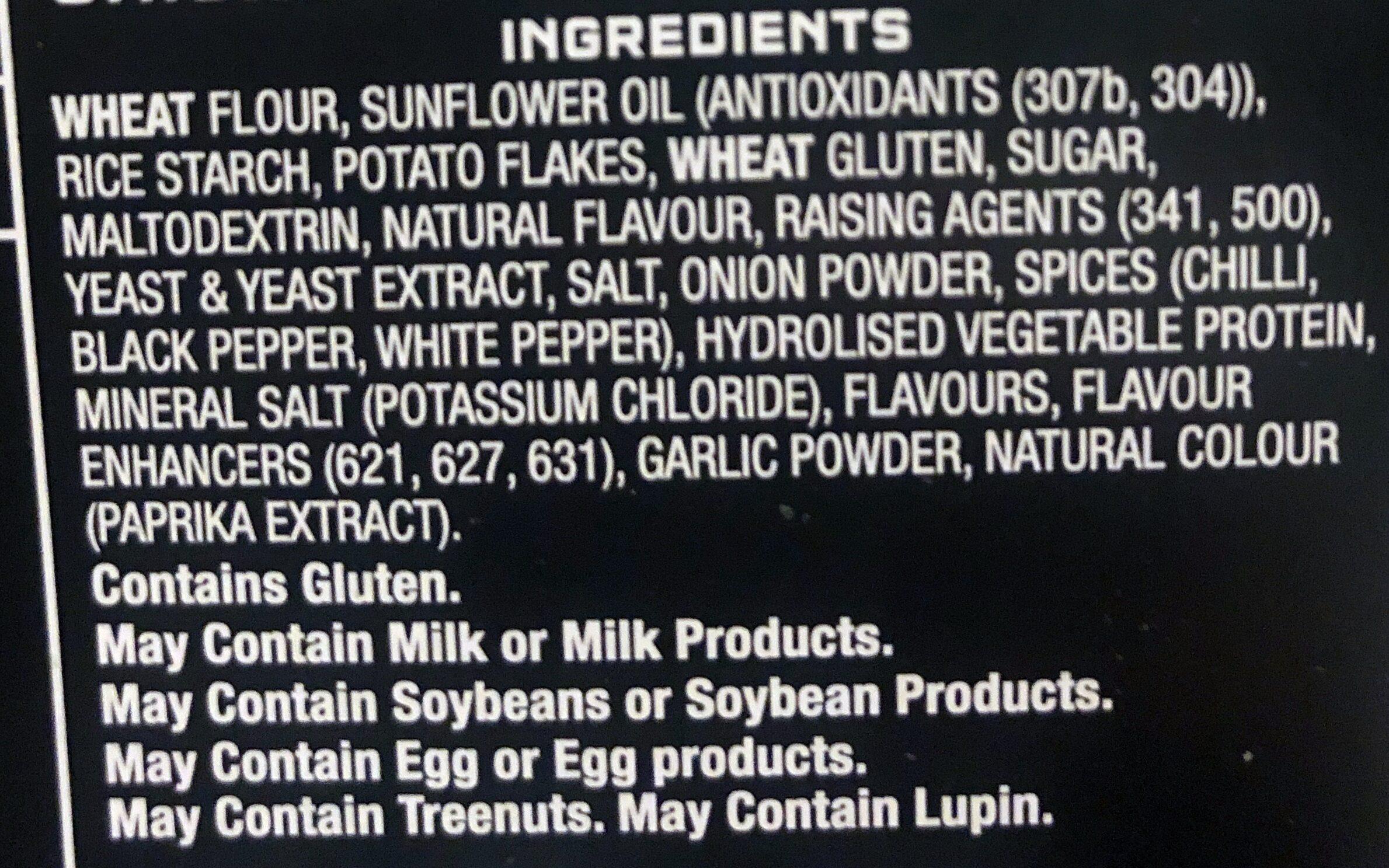 Crackers Southern Fried Chicken - Ingredients - en