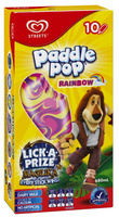 Paddle Pop Rainbow 8 Pack - Product - en