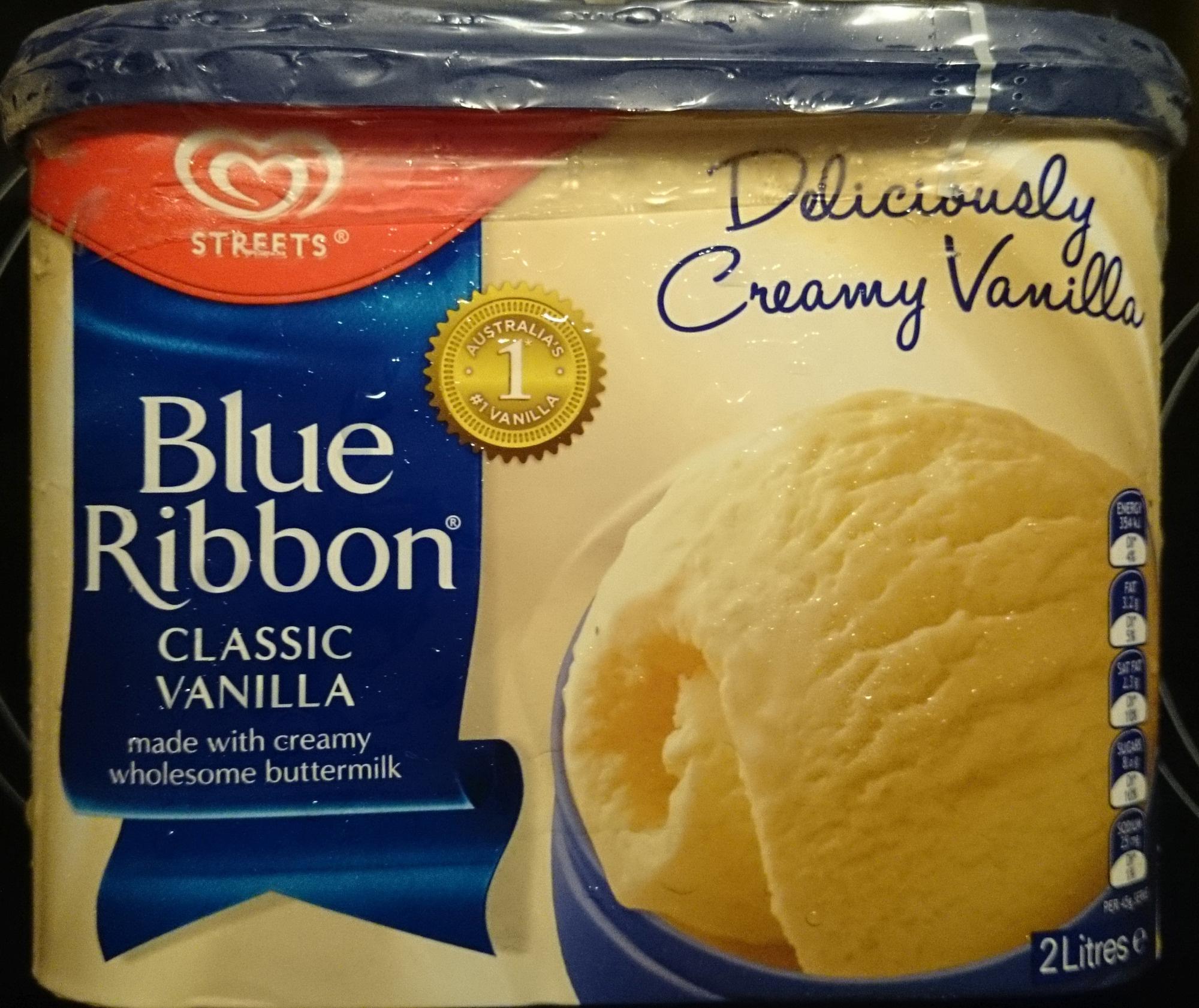 Streets Blue Ribbon Classic Vanilla - Product - en