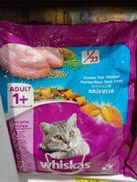 Whiskas 1+adult ocean fish flavour 480gr - Produk - id