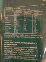 Tarditional White Wrap - Nutrition facts - en