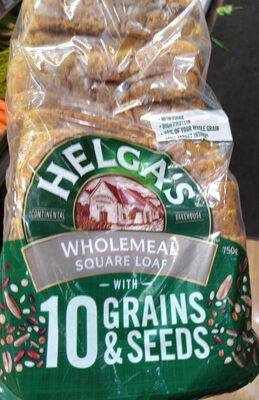 Wholemeal Square Loaf with 10 Grains & Seeds - Product - en