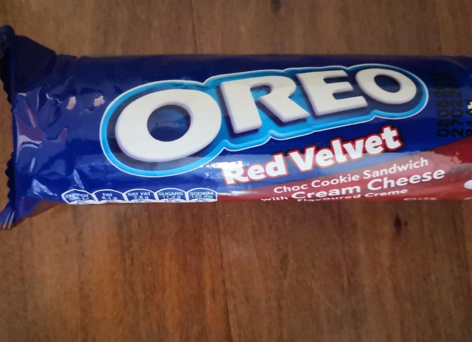 Oreo red velvet - Product - en