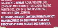 Ritz Crackers - Ingredients - en