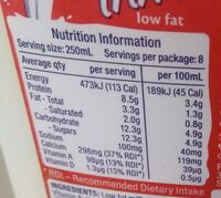 Pauls Trim Milk - Nutrition facts - en