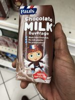 Chocolate MILK  Beverage - Product