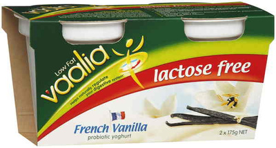 Vaalia Lactose Free French Vanilla Low Fat Yoghurt - Product - en